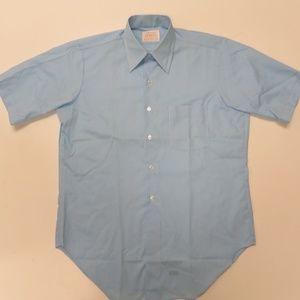 Vintage Arrow Surrey Decton Sanforized Shirt Blue